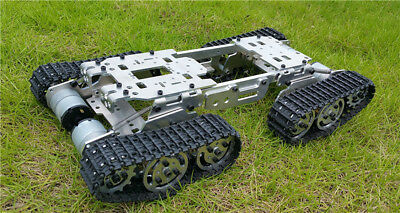 CB1606 CNC Metal Robot ATV Track Tank Chassis Suspension Obstacle Cross Crawler