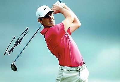 Tommy FLEETWOOD 12x8 Photo Signed Autograph GOLF AFTAL COA European Tour Winner