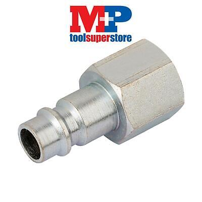 "Draper 54419 1/4"" BSP Female Nut PCL Euro Coupling Adaptor (Sold Loose)"