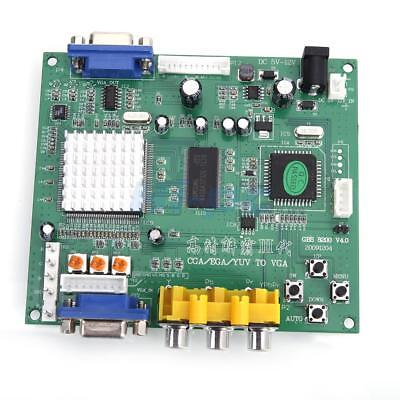Brand New Arcade Game RGB CGA EGA YUV to VGA HD Video Converter Board for LCDs