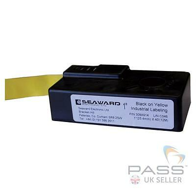 Seaward Test and Tag Label Cartridge (black on yellow) for Test n Tag Printer /