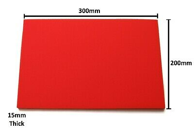 Universal Air Filter Foam, Make Your Own Air Filter, Reusable (Red)