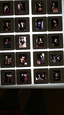 Carrie Fisher Celebrities Vintage Lot Of Color 35Mm Slide Transparency Photo #3