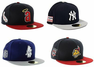 best service 12f0d 031a6 MLB New Era Side Patch Fitted Hat