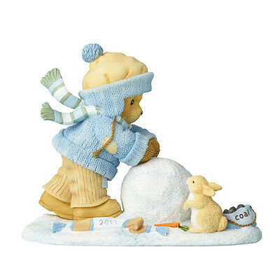 Cherished Teddies 'Our Friendship's On A Roll' 2017 Dated Figure 4055199