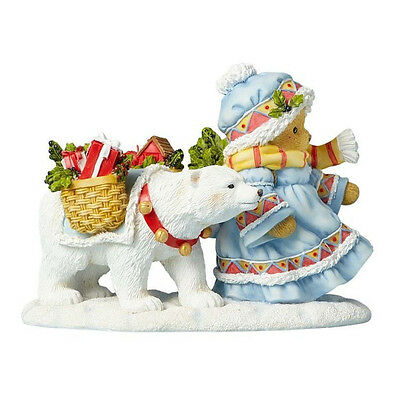 Cherished Teddies 'Friendship Warms The Coldest..' 2017 Laplander Figure 4059137