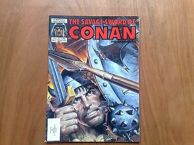 Savage Sword Of Conan The Barbarian #113 Marvel Comics June 1985 U.s. Mag. Fine
