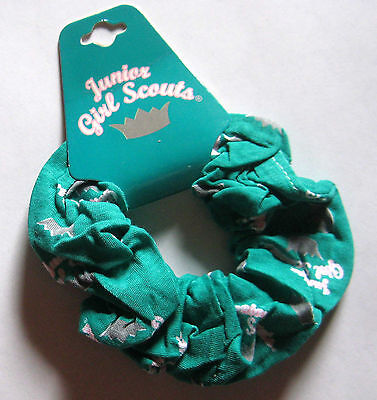 Girl Scout Junior HAIR SCRUNCHIE Tie Bow Accessory Christmas STOCKING STUFFER