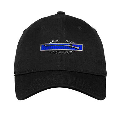 Combat Infantry-Man Badge Embroidered Soft Low Profile Hat