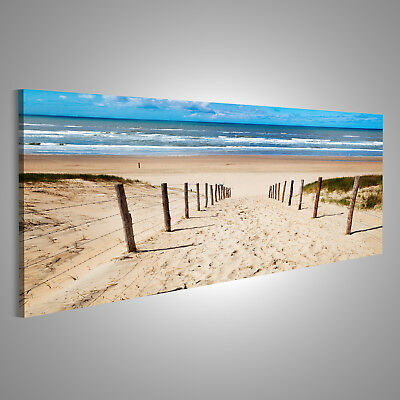 weg zum strand bilder auf leinwand poster wandbild kunstdruck 40 cm 65 cm 544 eur 18 90. Black Bedroom Furniture Sets. Home Design Ideas