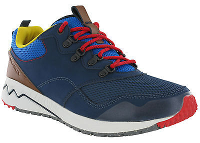 cb2d44466696c3 Merrell Stowe Trainers Leather Mesh Walking Mens Lace Up Casual Cushioned  Shoes