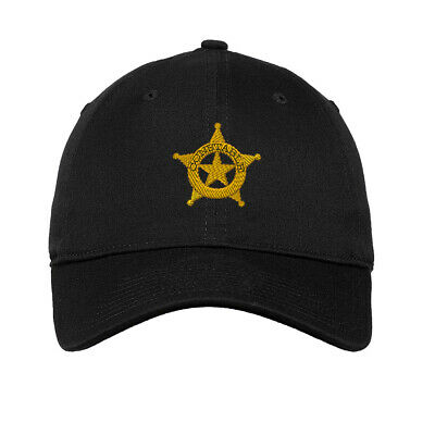 Constable Police Style 2 Embroidered Soft Low Profile Hat