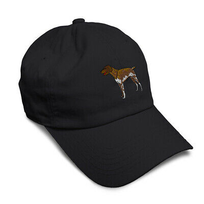 German Shorthair Pointer Dog Style 1 Embroidered Soft Low Profile Hat