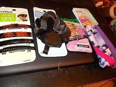 Multi-piece Scunci hair lot for women-all new