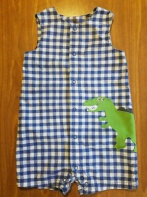 Baby Boy Size 24M Carter's One Pc  Cotton Summer Outfit