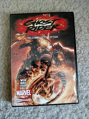 Ghost Rider The Complete Collection GIT-CORP DVD RARE Over  200 Comics!