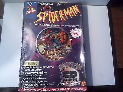 New 1995 Spider-Man Interactive CD-ROM Comic Book 1st Issue - Factory Sealed