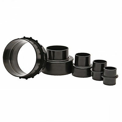 SIP 01935 5pc Hose Adaptor Reducer Set 100 - 35mm for dust extractor extraction