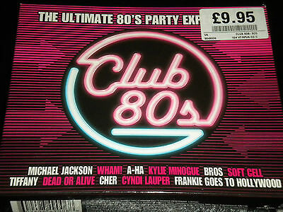 Club 80s - The Ultimate 80's Party Experience - 3CDs Box Set - 60 Great Tracks