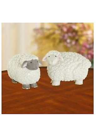 Lenox Sheep Salt and Pepper Shakers Set