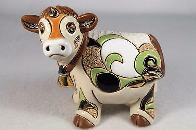 DeRosa Rinconada Family Figurine NEW 'Adult Cow' With Bell #F171 New In Box