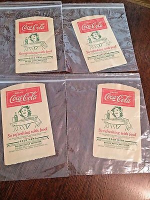 Coca-Cola No-Drip Bottle Protector Sleeve 1932