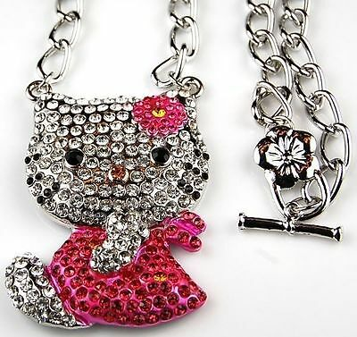 3f0a9ee3d HELLO KITTY GOLD/PEARL Necklace; Blue Bow; Pearl Earrings Fashion ...
