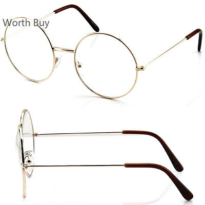 John Lennon Round Retro Metal Frame Clear Lens Frame Eye Glasses Fashion Vintage
