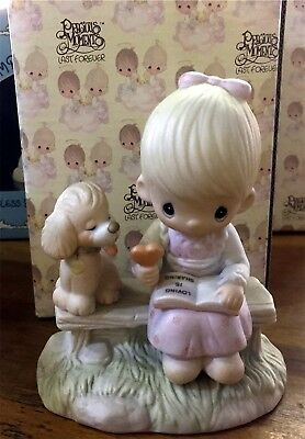 Preciuos Moments Figurine Mib - Loving Is Sharing 1979