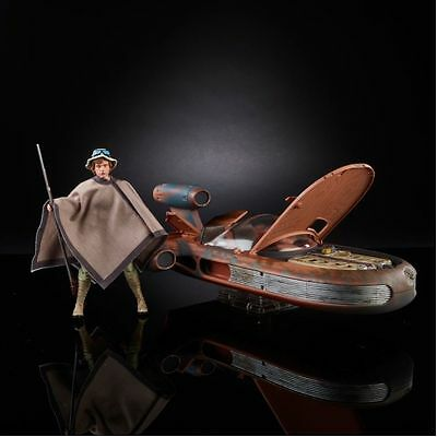 SDCC 2017 Star Wars: The Black Series X-34 Landspeeder & 6-Inch Luke Skywalker!