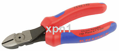 Knipex 74 02 140 High Leverage Diagonal Side Cutters 140mm