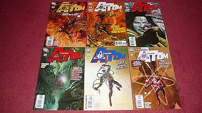 THE ALL-NEW ATOM lot, 6 issues, #s 19-24 (DC, 2008) NR!