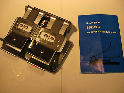 Film Klebepresse von Alcron aus Metall Super/Normal 8 mm Film-Splicer for Films