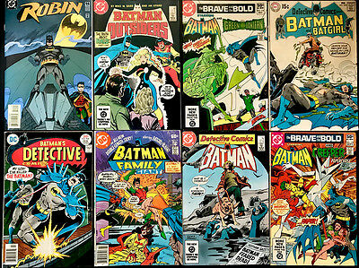 set of 8 BATMAN and BATMAN related comics from DC average condition FN/VF • $5.99