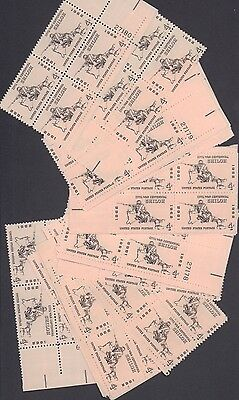 {BJ Stamps}  #1179  Battle of Shiloh   25 Plate blocks  MNH  4 cents.  In 1960