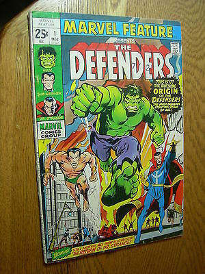 Marvel Feature #1 G+ first appearance of the Defenders