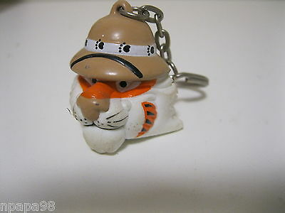 Exxon Tiger In Your Tank Key Chain Gas Oil Promo Fob Ring Vintage 1997