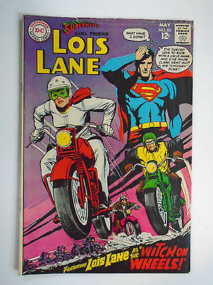 Superman's GF Lois Lane #83, Witch on Wheels, Fine-, 5.5, OWW Pages