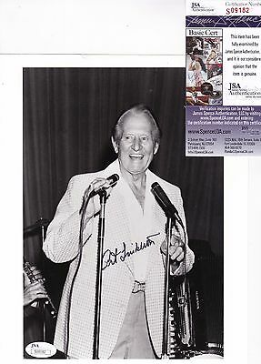 Art Linkletter Kids Say The Darndest Things Signed 8x10 Photo JSA Certified