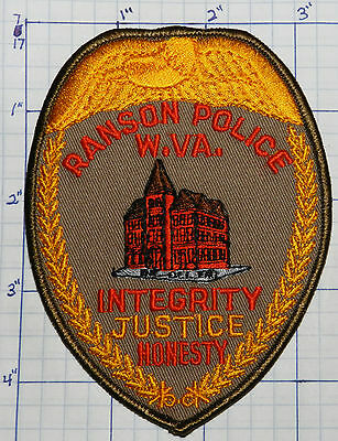 West Virginia, Ranson Police Dept Tan Patch