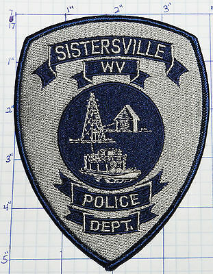 West Virginia, Sistersville Police Dept Gray Patch
