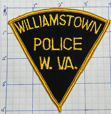 West Virginia, Williamtown Police Dept Triangle Patch