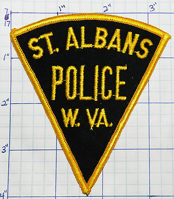 West Virginia, St. Albans Police Dept Patch