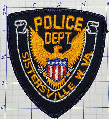 West Virginia, Sistersville Police Dept Eagle Patch