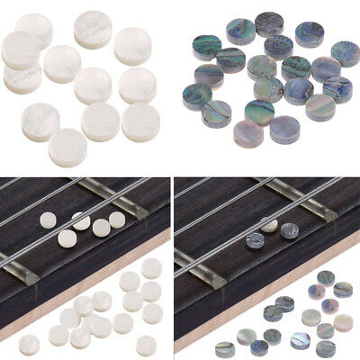 12/20Pc Mother of Pearl Fret Marker Inlay Dots for Guitar Neck Fingerboard 6*2mm