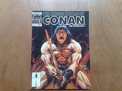 Savage Sword Of Conan The Barbarian #159 Marvel Comics April 1989 U.s. Mag. Fine