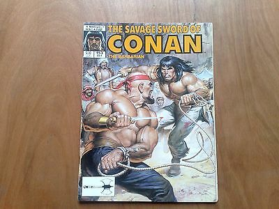 Savage Sword Of Conan The Barbarian #153 Marvel Comics Oct 1988 U.s. Mag. Fine