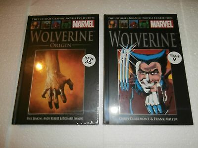 Marvel Comics Ultimate Graphic Novels Collection X 2 Wolverine (New & Sealed)