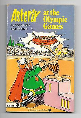 Asterix at the Olympic Games by Goscinny & Uderzo - Paperback Edition 1975