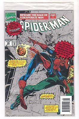 Spider-Man 46, Nm-, Polybagged, Annimation Style Print Movie 2017, (Ships Free)